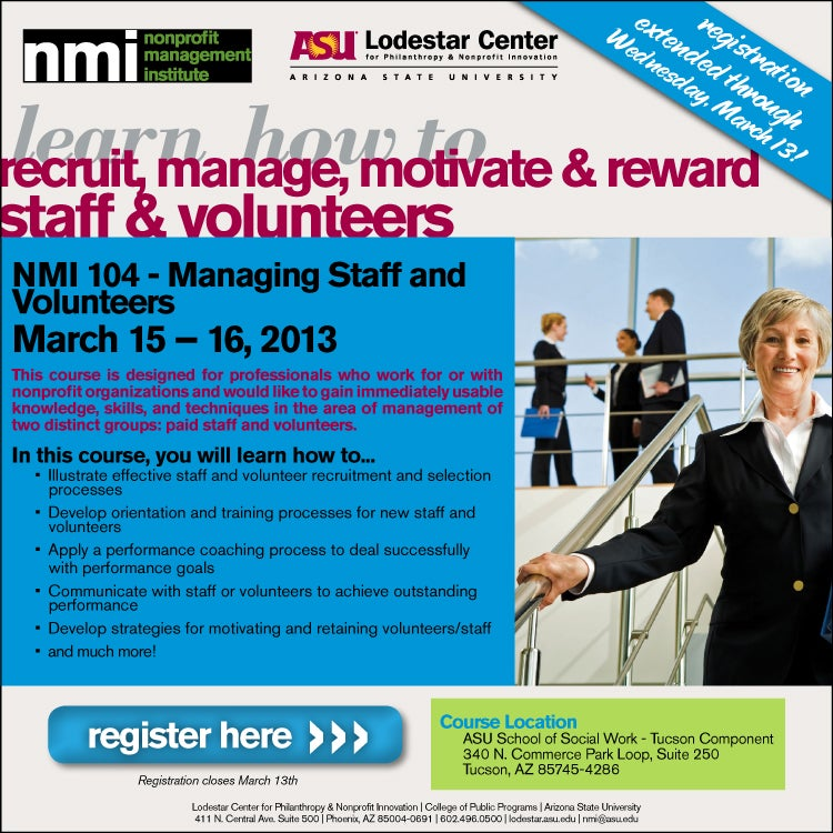 Lodestar Registration for Management class
